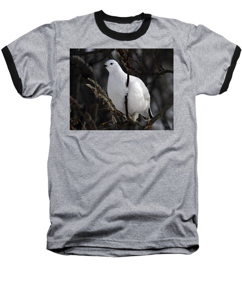 Willow Ptarmigan Baseball T-Shirt