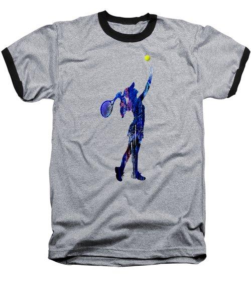 Womens Tennis Collection Baseball T-Shirt