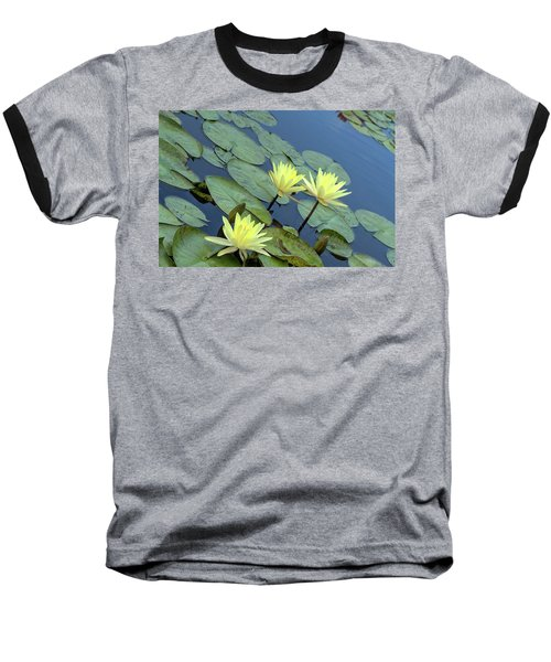 3 Yellow Baseball T-Shirt