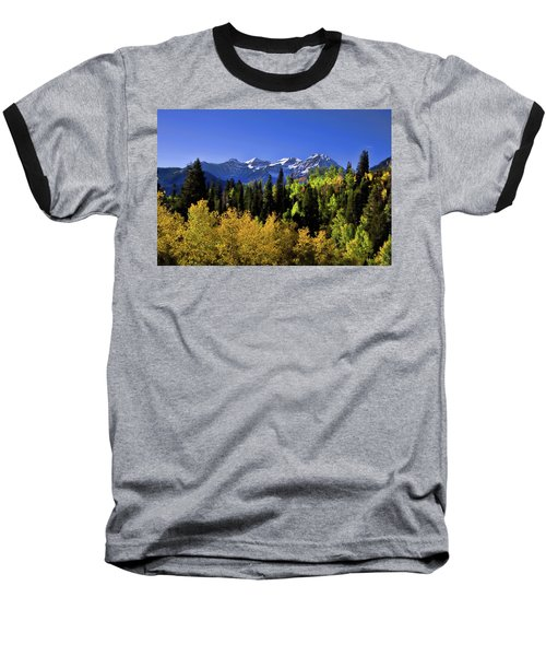 Autumn Splender Baseball T-Shirt