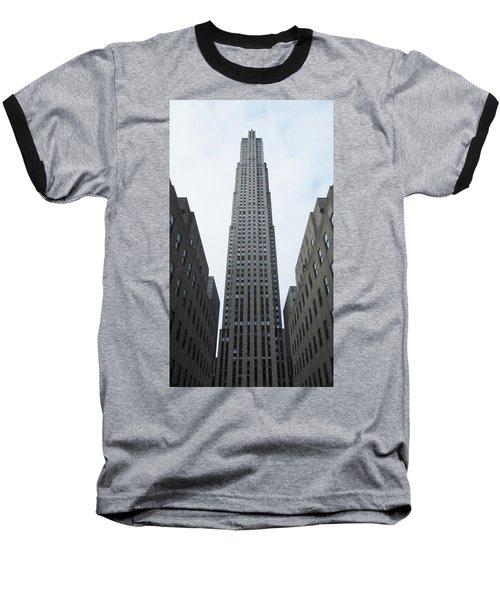 30 Rockefeller Center Baseball T-Shirt