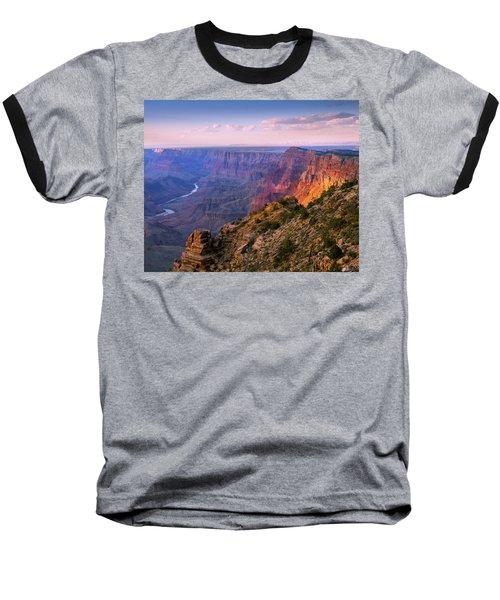 Canyon Glow Baseball T-Shirt by Mikes Nature