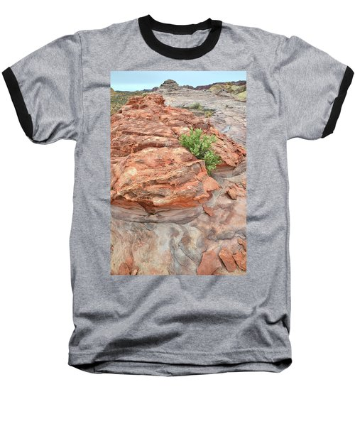 Colorful Sandstone In Valley Of Fire Baseball T-Shirt