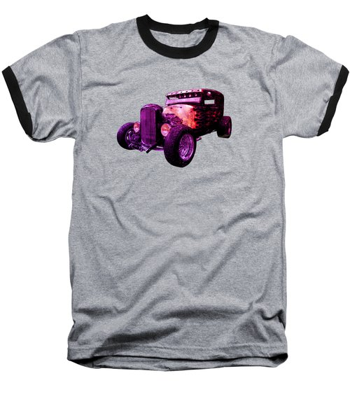 31 Ford Model A Fiery Hot Rod Classic Baseball T-Shirt
