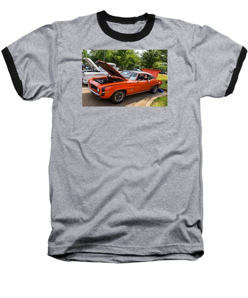 Hall County Sheriffs Office Show And Shine Car Show Baseball T-Shirt by Michael Sussman