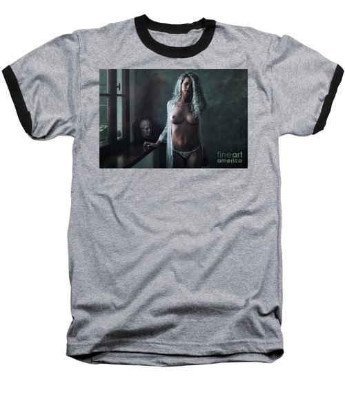 Baseball T-Shirt featuring the photograph Tu M'as Promis by Traven Milovich
