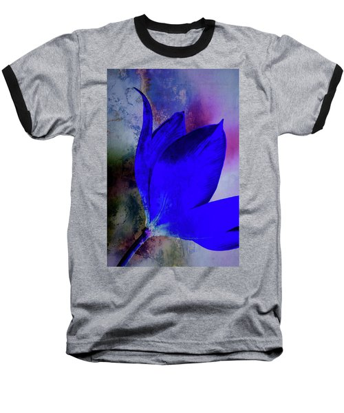 Texture Flowers Baseball T-Shirt by Andre Faubert