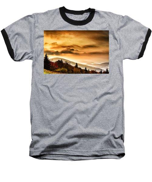 Allegheny Mountain Sunrise #33 Baseball T-Shirt