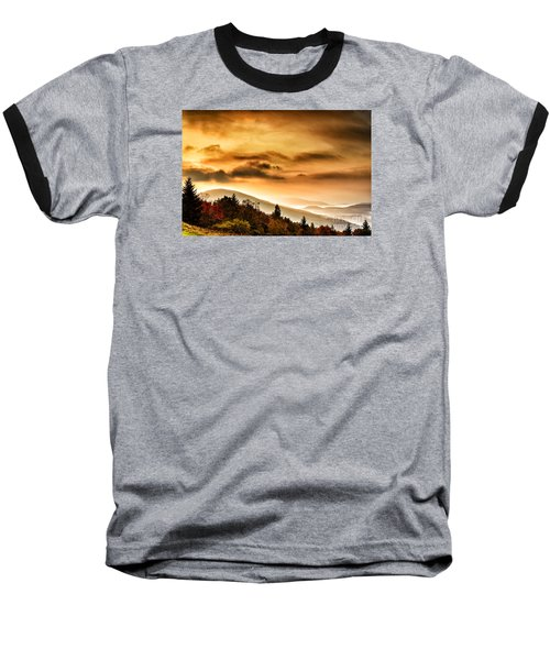 Allegheny Mountain Sunrise #33 Baseball T-Shirt