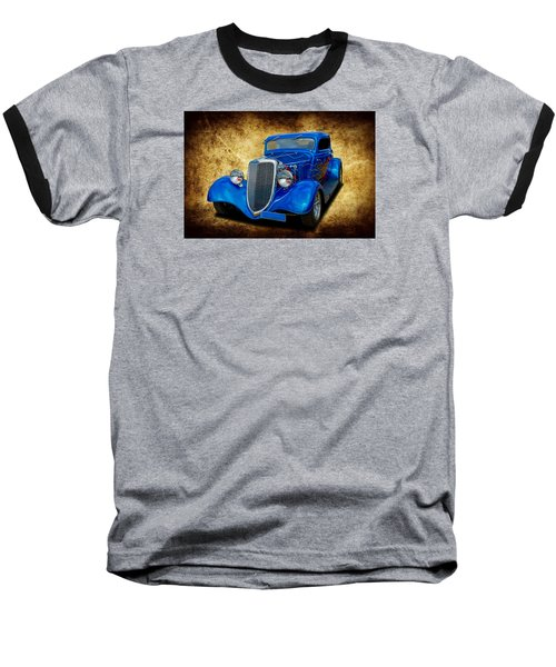 Baseball T-Shirt featuring the photograph 34 Coupe by Keith Hawley
