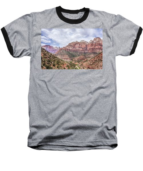 Zion Canyon National Park Utah Baseball T-Shirt