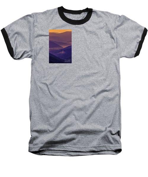 Allegheny Mountain Sunrise Baseball T-Shirt by Thomas R Fletcher
