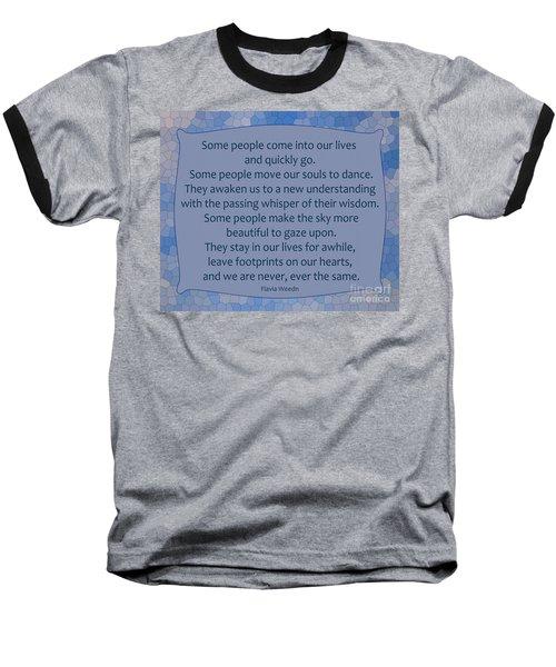 35- Some People Baseball T-Shirt