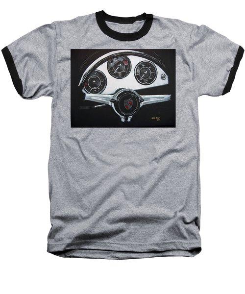 356 Porsche Dash Baseball T-Shirt