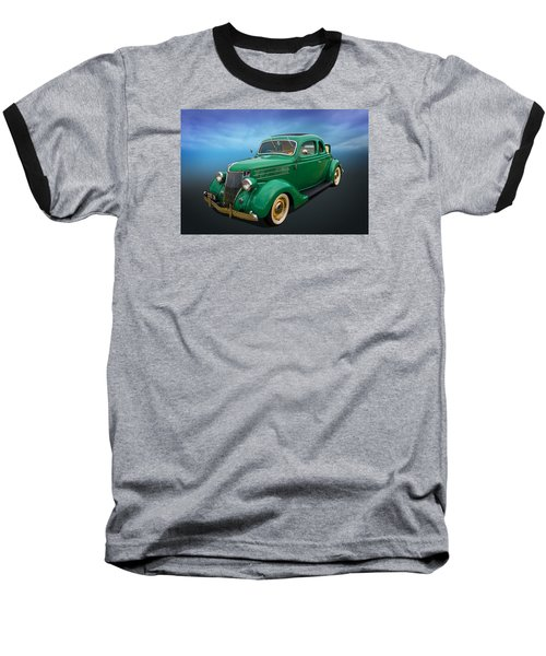 Baseball T-Shirt featuring the photograph 36 Ford by Keith Hawley