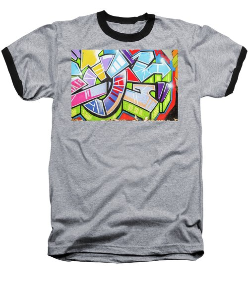 Graffiti Baseball T-Shirt by Muhie Kanawati