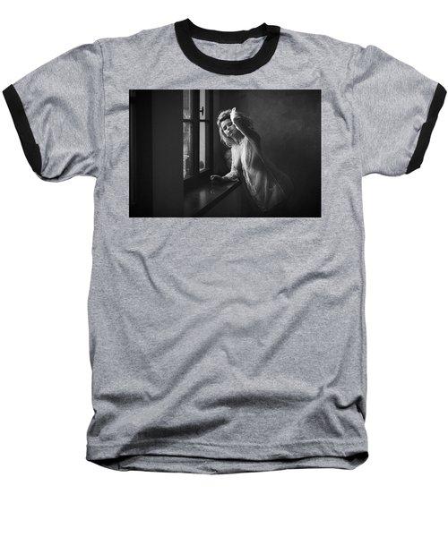 Tu M'as Promis Baseball T-Shirt by Traven Milovich
