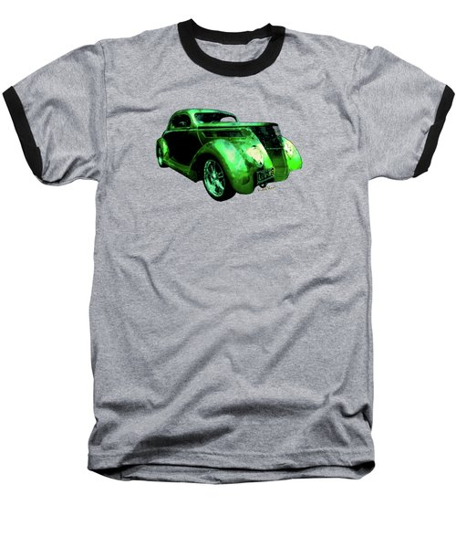 37 Ford Street Rod Luv Me Green Meanie Baseball T-Shirt