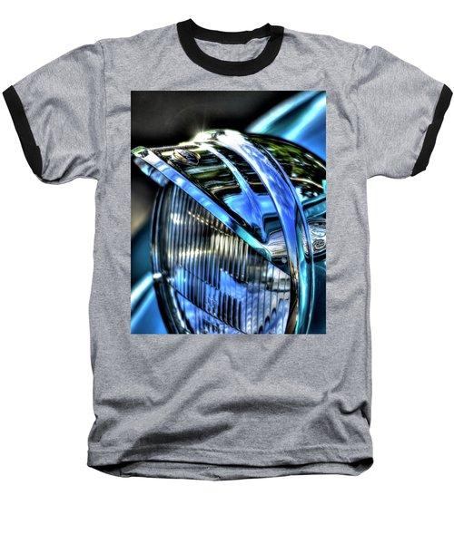 38 Ford Headlamp Baseball T-Shirt by Jerry Sodorff