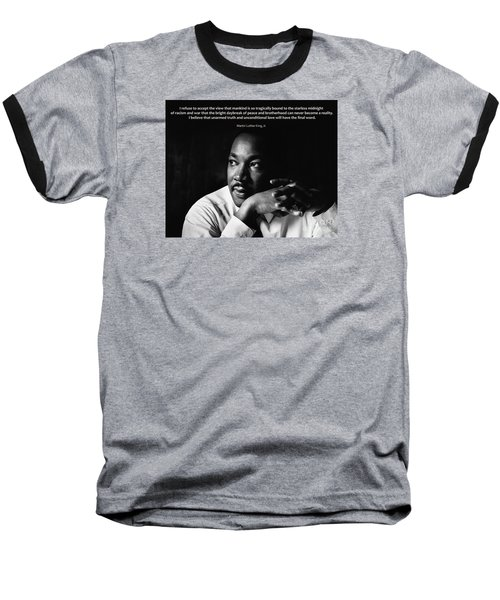 39- Martin Luther King Jr. Baseball T-Shirt