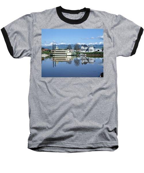 3b6380 Petaluma Queen Riverboat Baseball T-Shirt
