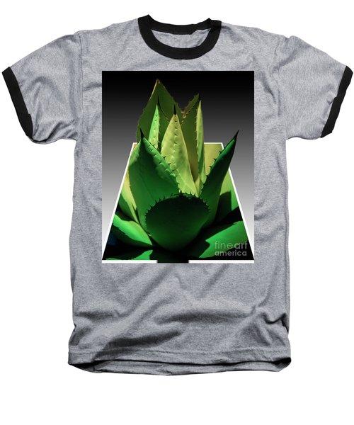 3d Cactus Baseball T-Shirt