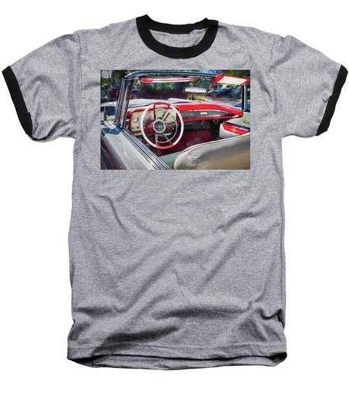 1959 Lincoln Continental Town Car Mk Iv Painted  Baseball T-Shirt