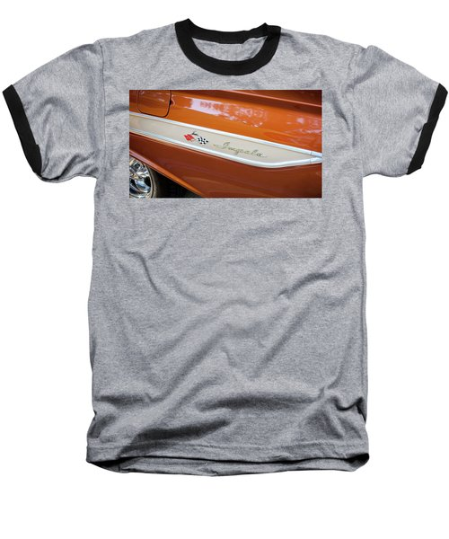 1961 Chevrolet Impala Ss  Baseball T-Shirt by Rich Franco