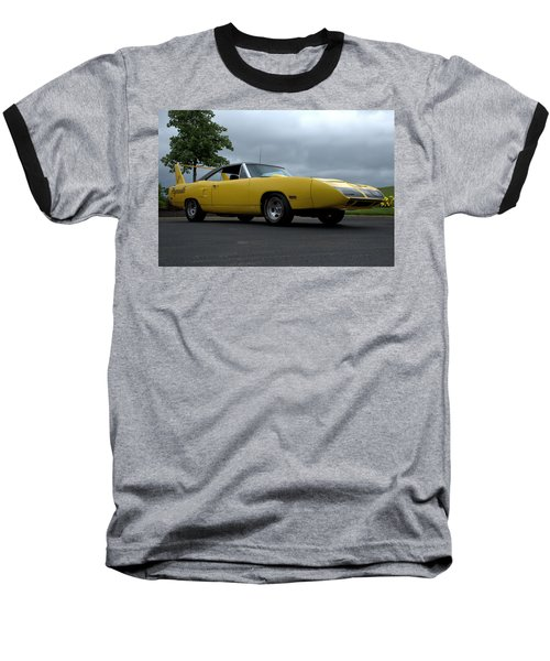 1970 Plymouth Roadrunner Superbird Baseball T-Shirt