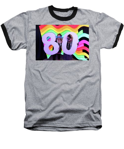 80's Dance Party At Sterling Event Center Baseball T-Shirt