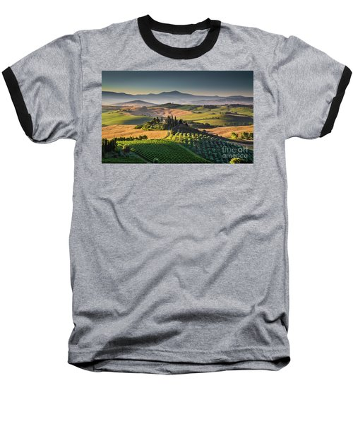 A Morning In Tuscany Baseball T-Shirt