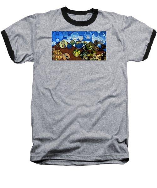 Baseball T-Shirt featuring the digital art Abstract Painting - Wood Bark by Vitaliy Gladkiy