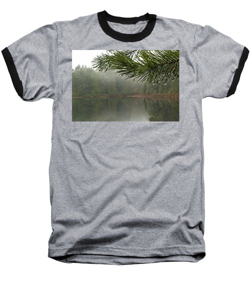 After The Rain Baseball T-Shirt by Inge Riis McDonald