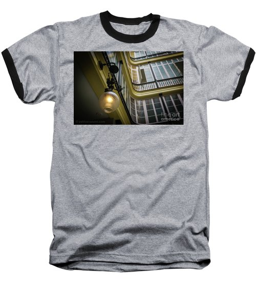 Baseball T-Shirt featuring the photograph Apartment In The Heart Of Cadiz by Pablo Avanzini