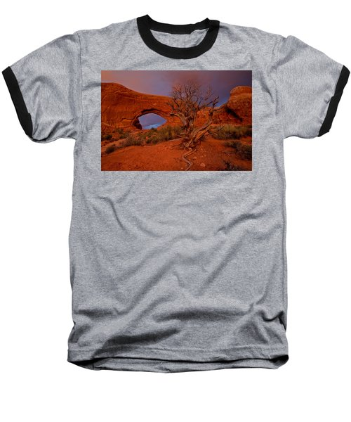 Baseball T-Shirt featuring the photograph Arches by Evgeny Vasenev