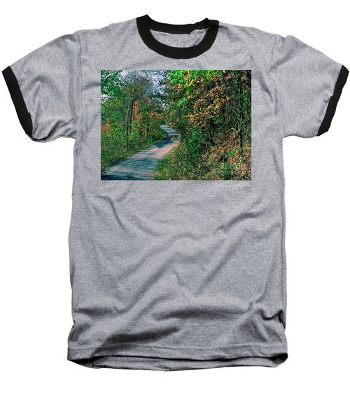Baseball T-Shirt featuring the photograph Autumn Colors by Gary Wonning