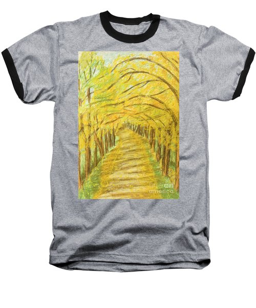 Autumn Landscape, Painting Baseball T-Shirt