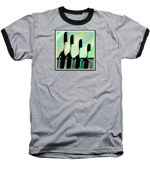 Brothers Baseball T-Shirt by Iris Gelbart