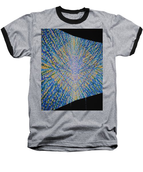 Baseball T-Shirt featuring the painting Butterfly Dream by Kyung Hee Hogg