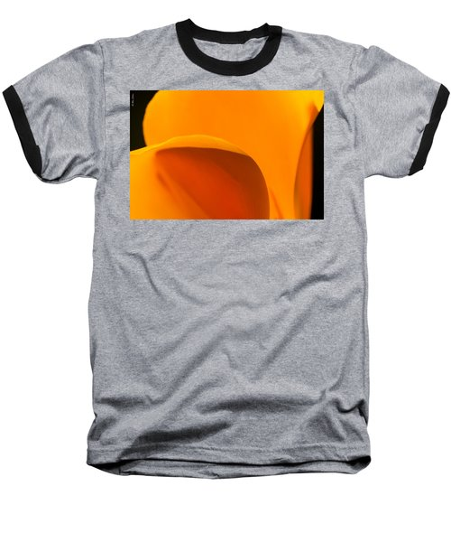 Californian Poppies Baseball T-Shirt