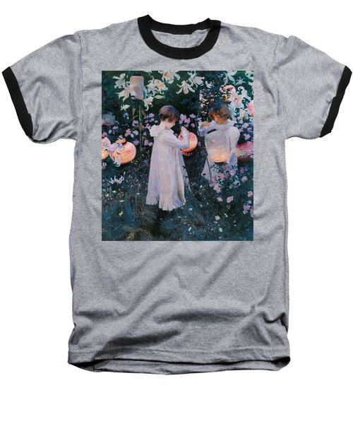 Carnation Lily Lily Rose Baseball T-Shirt