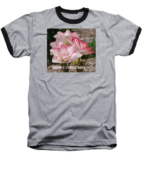 Baseball T-Shirt featuring the photograph Christmas Card by Rod Ismay
