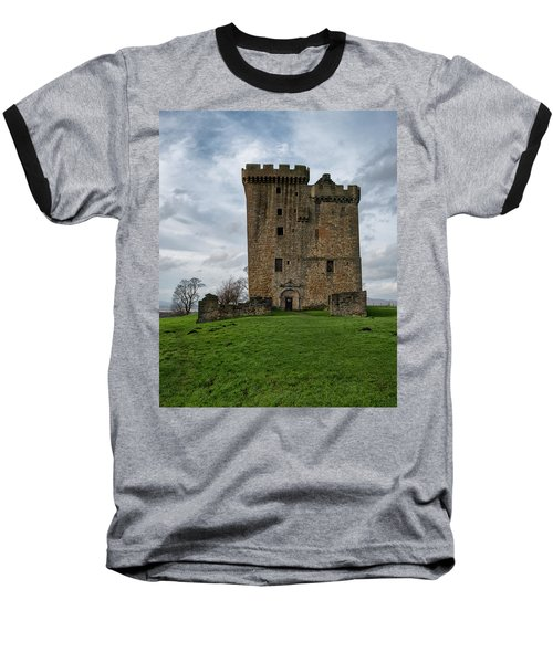 Baseball T-Shirt featuring the photograph Clackmannan Tower by Jeremy Lavender Photography