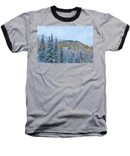 Colorado Fall Foliage 2 Baseball T-Shirt