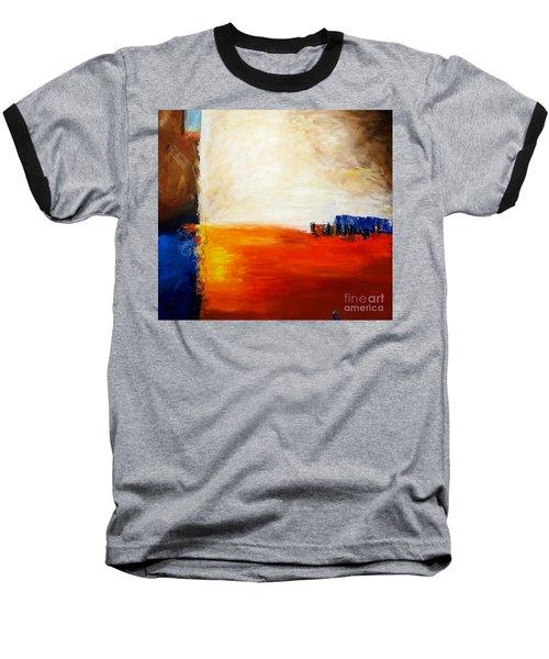 4 Corners Landscape Baseball T-Shirt