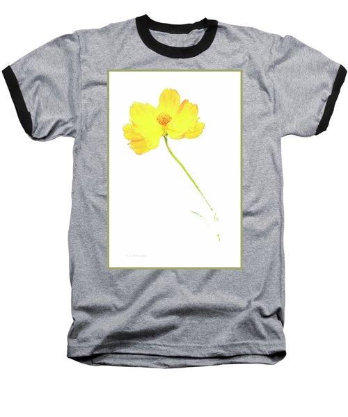 Cosmos Flower Baseball T-Shirt