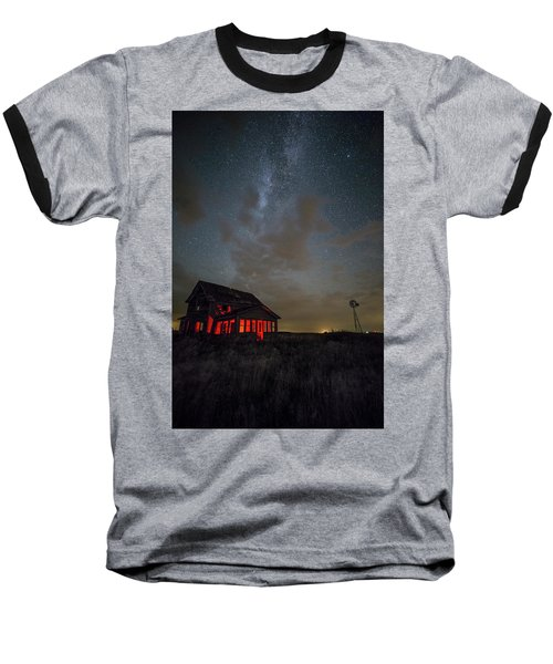Baseball T-Shirt featuring the photograph Dark Place  by Aaron J Groen