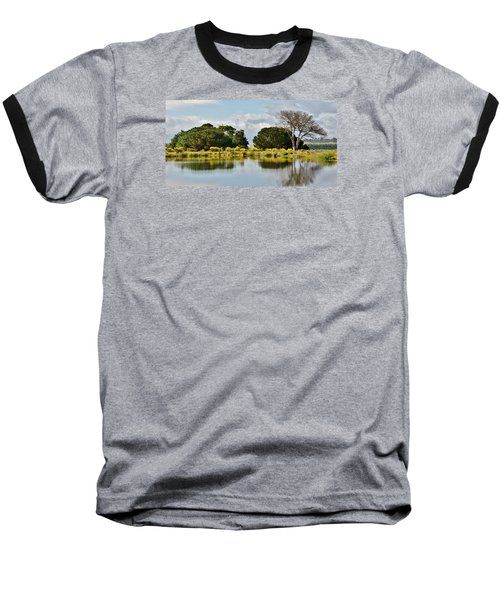 Baseball T-Shirt featuring the photograph dead Tree by Werner Lehmann