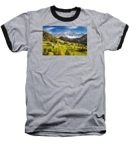 Dolomites Baseball T-Shirt
