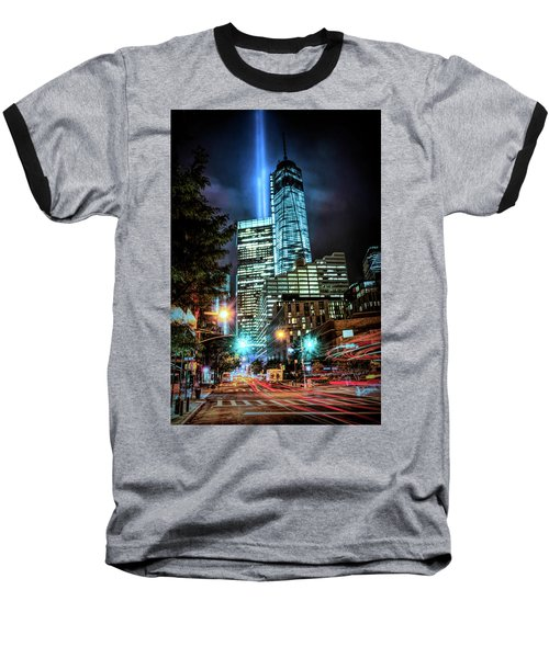 Baseball T-Shirt featuring the photograph Freedom Tower by Theodore Jones